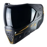 Empire EVS Mask - Black/Gold with Ninja & Clear Lenses