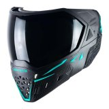 Empire EVS Mask - Black/Aqua with Ninja & Clear Lenses